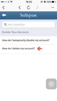 Cara Menghapus Akun Instagram dari iPhone (6)