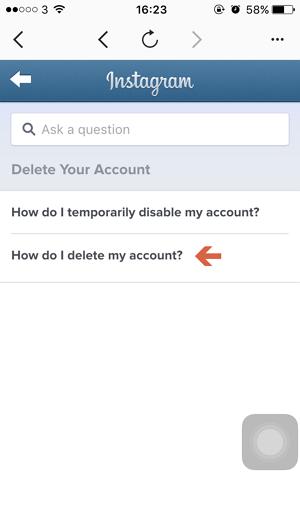 Cara Menghapus Akun Instagram Dari Iphone Macpoin