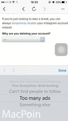 Cara Menghapus Akun Instagram dari iPhone (8)