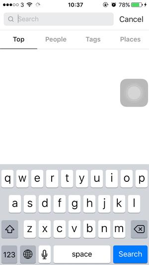 Cara Menghapus Riwayat Pencarian Instagram di iPhone (5)
