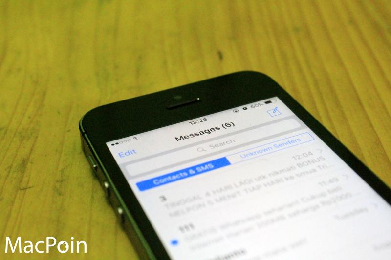 Cara Menghapus SMS Lama Secara Otomatis di iPhone (1)