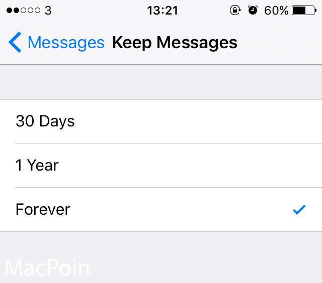 Cara Menghapus SMS Lama Secara Otomatis di iPhone (4)
