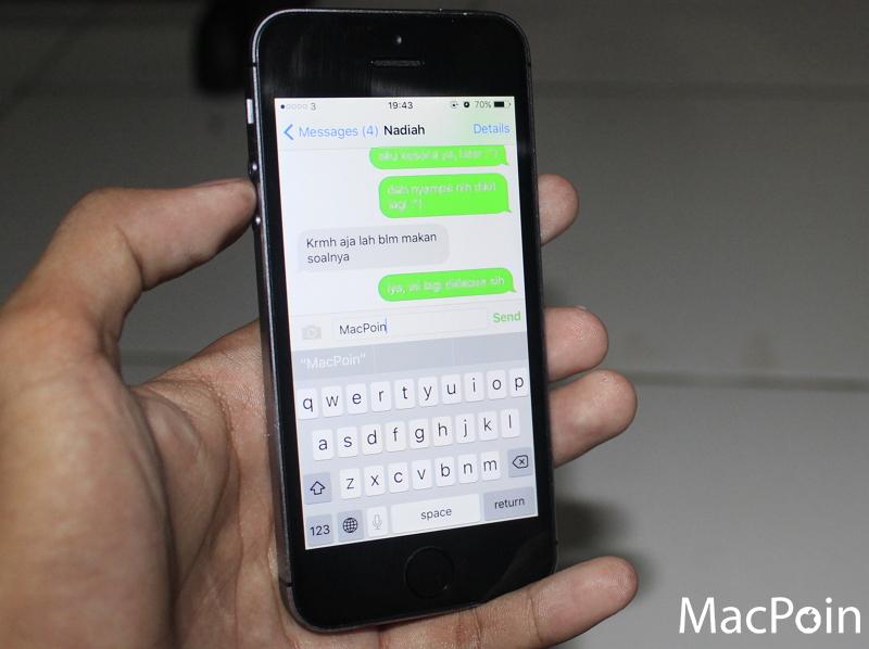 Cara Mengirim SMS dengan Siri (1)