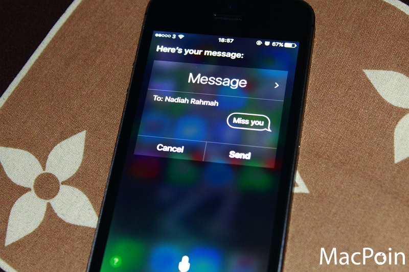 Cara Mengirim SMS dengan Siri (4)