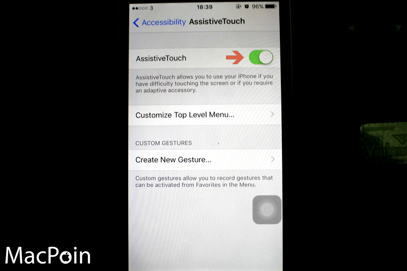 Cara Mengunci iPhone tanpa Tombol Power (2)
