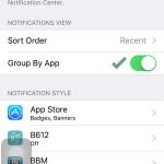 Cara Mengurutkan Notifikasi pada iPhone iPad (iOS 9) (3)