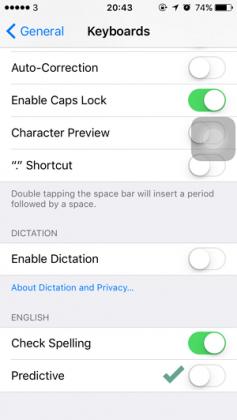 Cara Menonaktifkan Prediksi Teks Keyboard di iPhone iPad (5)