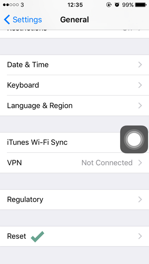 Cara Reset Keyboard Dictionary pada iPhone iPad (1)