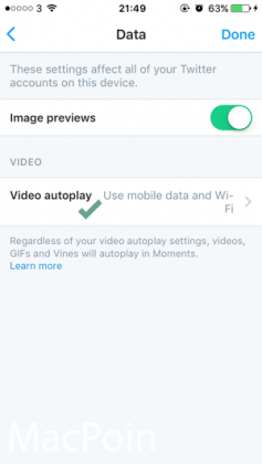 Cata Mematikan Auto-play Video Twitter di iPhone iPad (5)