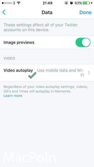 Cata Mematikan Auto-play Video Twitter di iPhone iPad (1)
