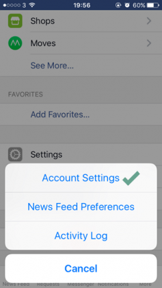 Cara Mematikan Auto-play Video Facebook di iPhone / iPad