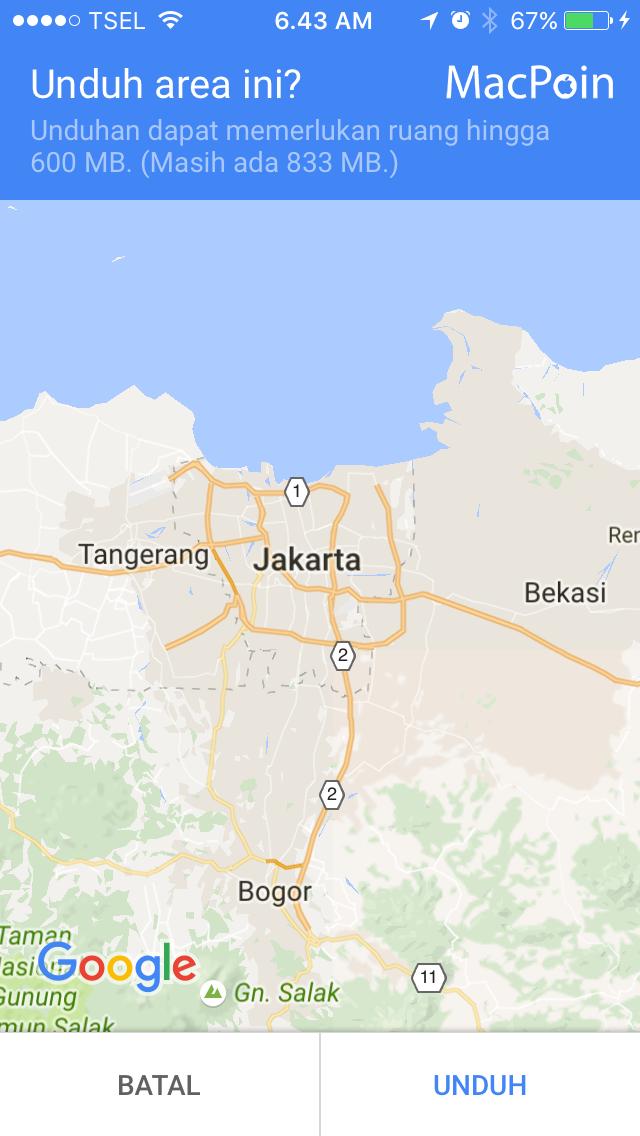 Google Maps memang bukan fitur bawaan iOS. Perangkat iOS punya peta buatan Apple sendiri, yaitu Apple Maps atau aplikasi Maps. Kualitas Apple Maps sebagai sebuah peta sebenarnya tidak terlalu buruk sekarang. Terlebih lagi Apple bekerja sama dengan berbagai perusahaan seperti TomTom, Yelp!, Foursquare, dan lain-lain untuk mengembangkan peta miliknya.