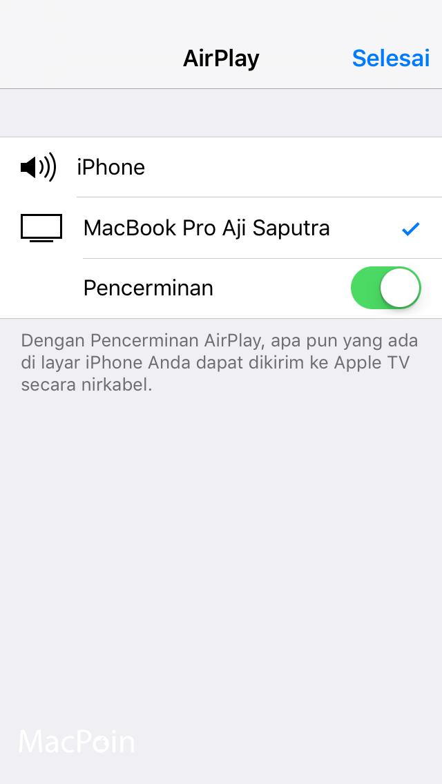 Cara Memproyeksikan Tampilan iPhone atau iPad ke Dengan AirServer