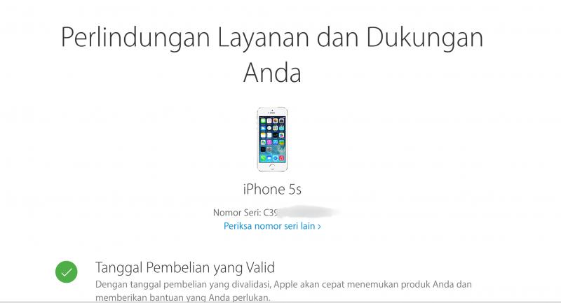 Cara Cek Apakah Produk Apple Milikmu Legal