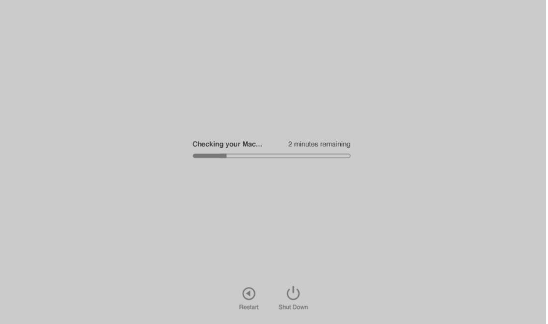 Diagnosa Kerusakan Mac OS X Dengan Sangat Mudah