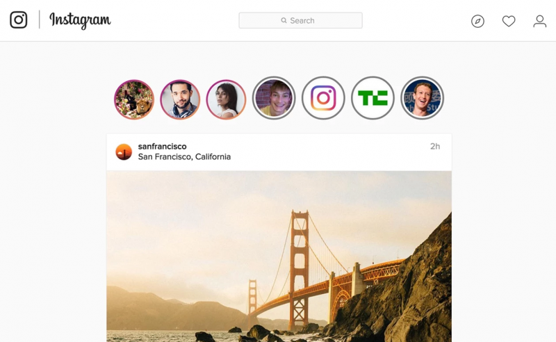 Melihat Instagram Stories di Komputer Mac