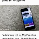 Mengatur Tampilan Reader Mode pada Safari di iPhone iPad (2)