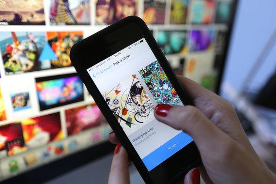 Menghilangkan Watermark Prisma di iPhone