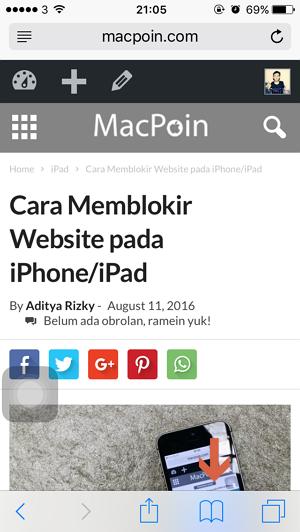 Trik Menyimpan Halaman Web Sebagai PDF pada Safari iPhone (4)