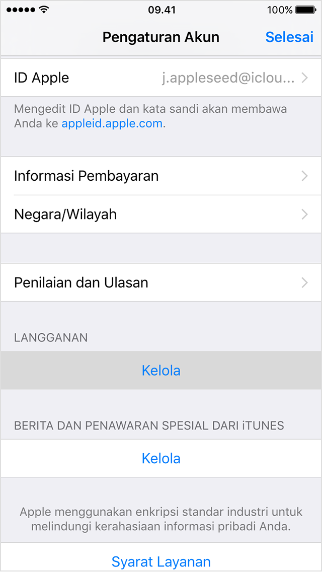 Cara Berhenti Langganan Apple Music