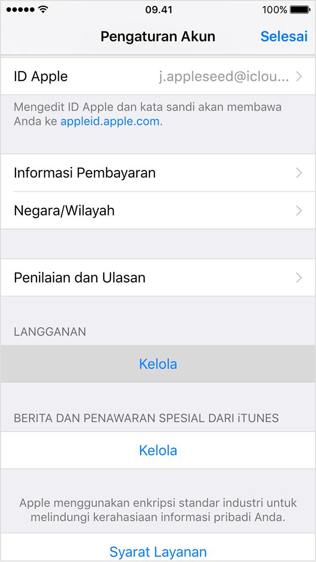 Cara Berhenti Langganan Apple Music