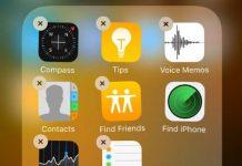 Jangan Hapus Aplikasi Bawaan di iOS 10