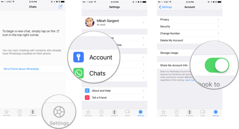 Menghentikan WhatsApp Berbagi Data Dengan Facebook