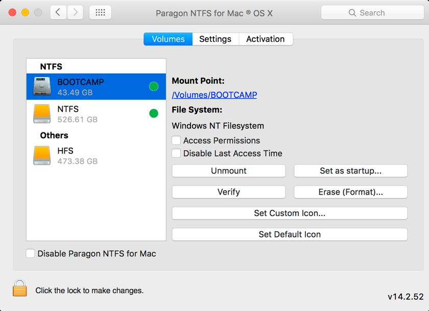 Copy Paste Data Harddisk di Mac dengan Paragon NTFS