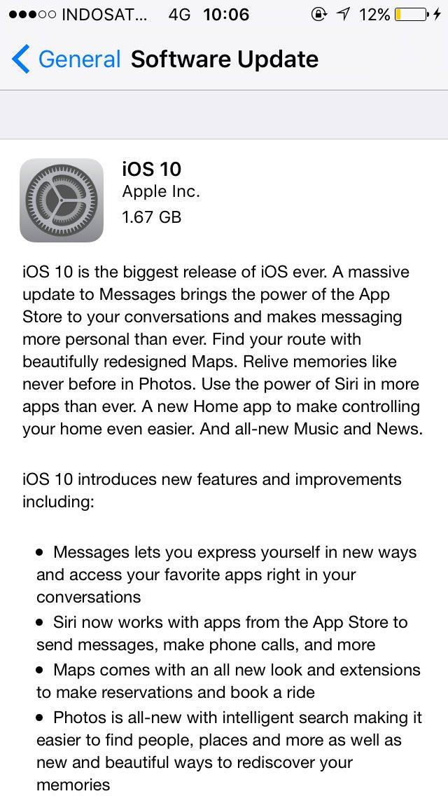 Kamu Bisa Download iOS 10 Golder Master Sekarang Juga
