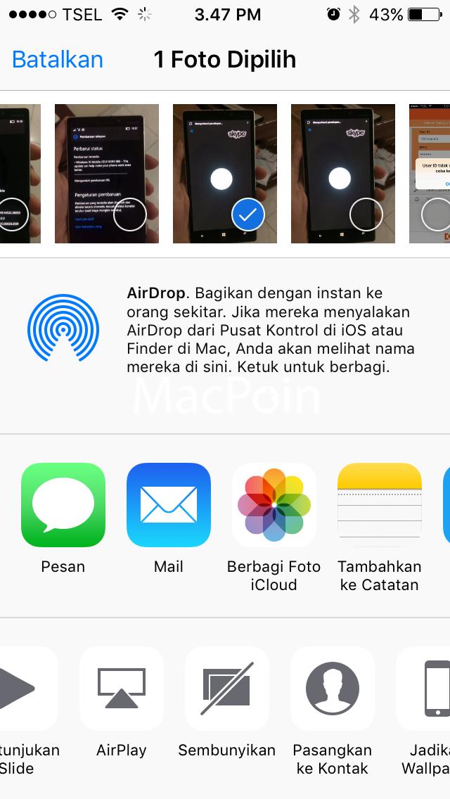 Cara Menyembunyikan Foto dan Video Tanpa Aplikasi di iPhone
