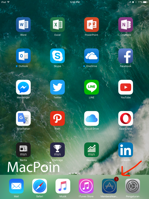 Cara Hapus Cache Data iOS 10 lewat App Store