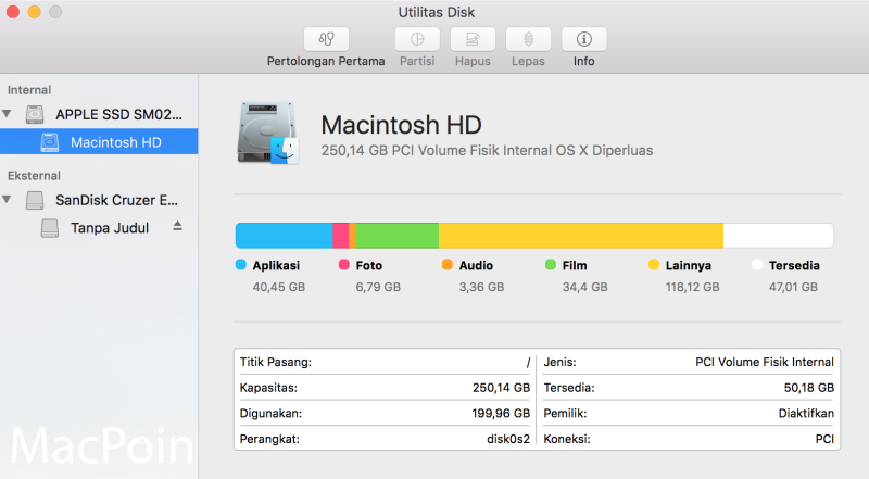 Cara Copy Paste Data Harddisk dan Flashdisk di Mac OS X