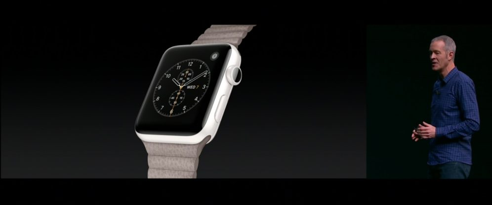 Apple Watch Series 2 with ceramic finish