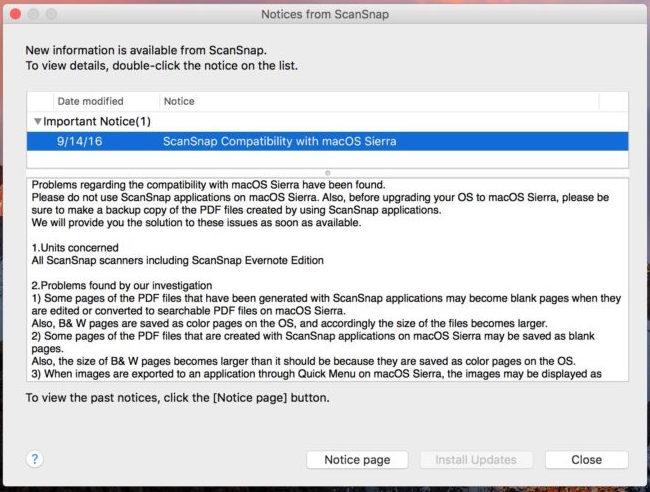 Jangan Upgrade OS X El Capitan ke macOS Sierra