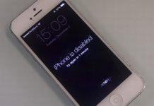 Cara Membuka iPhone Disabled atau iPhone Dinonaktifkan