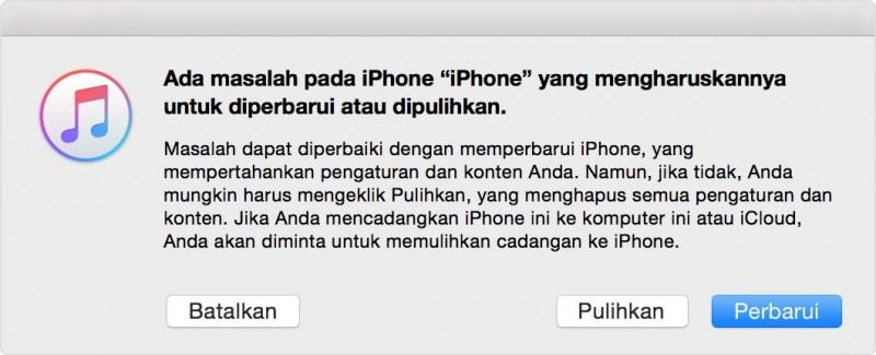 Cara Mengatasi iPhone Terkunci Lupa Password / Passcode