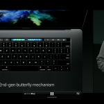 Generasi terbaru butterfly keyboard