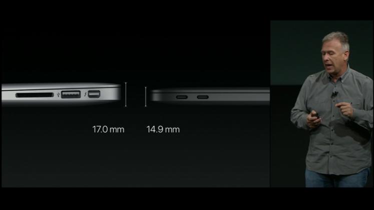 Lebih tipis dari MacBook Air