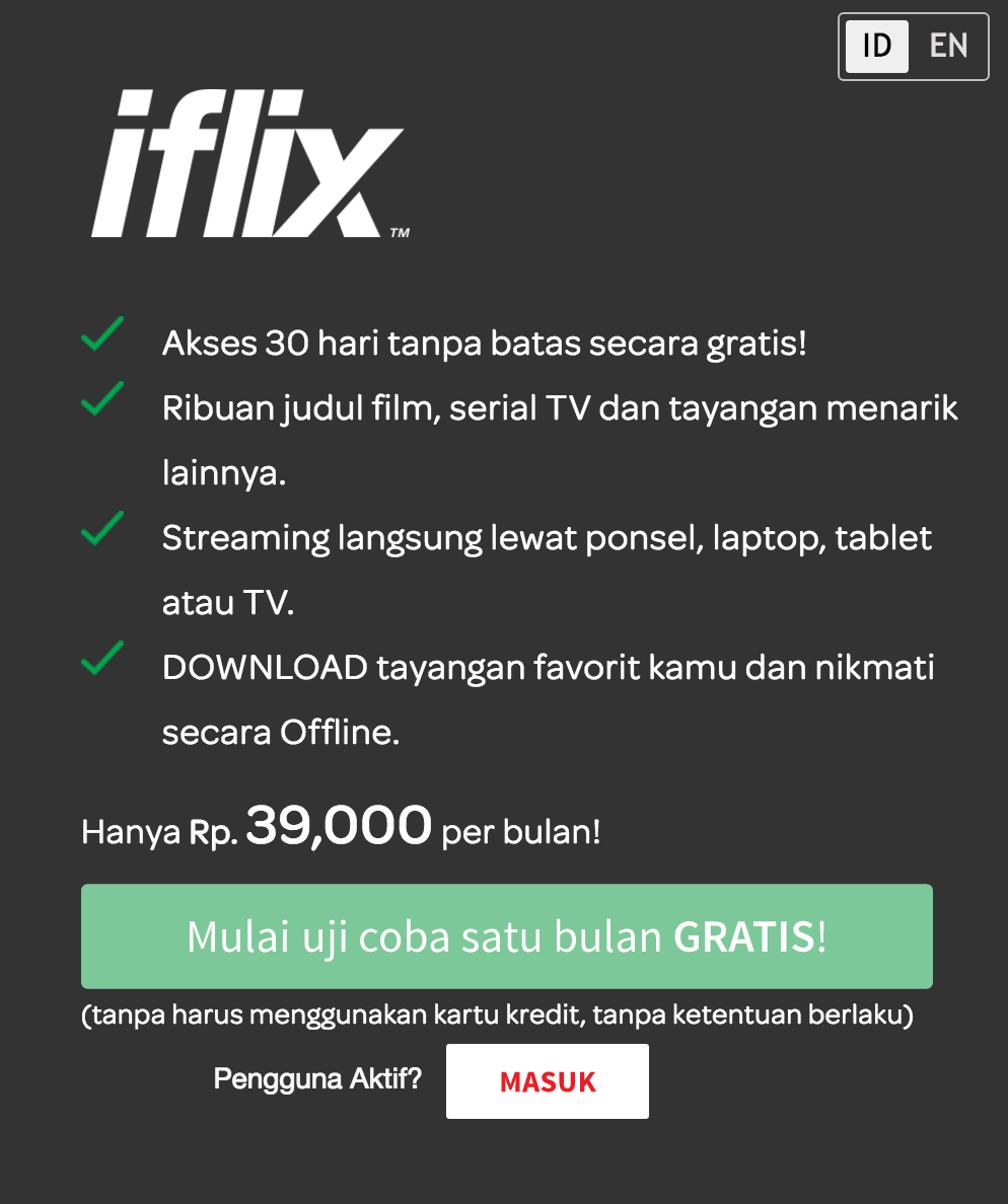Streaming Video dan Download Gratis Ribuan Film