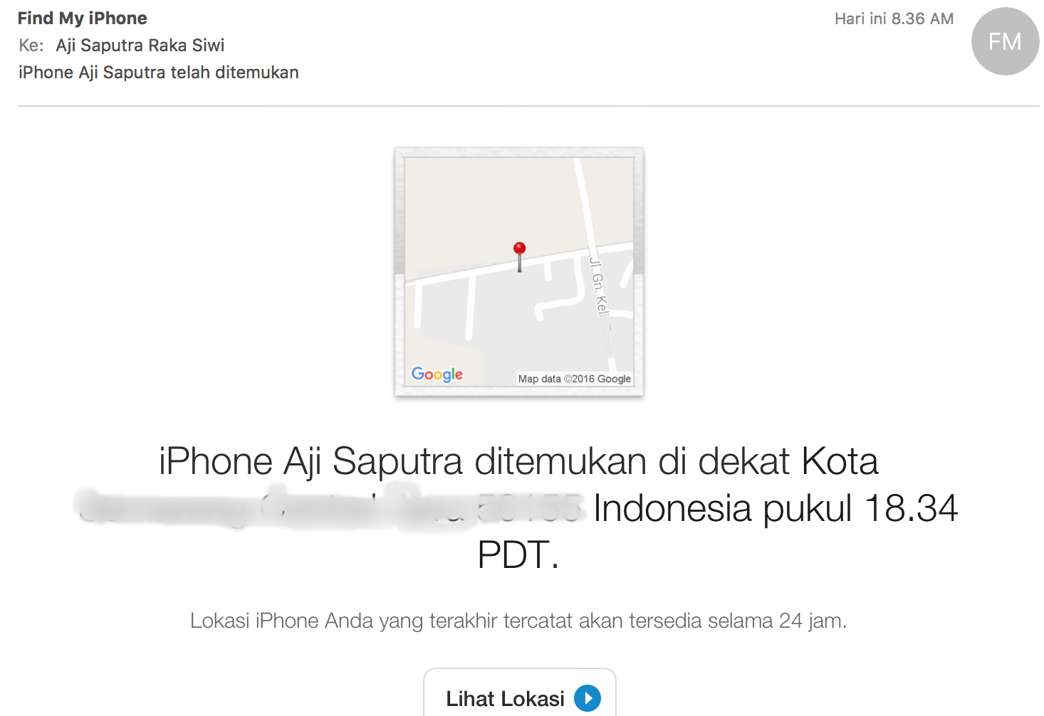 Menemukan iPhone yang Hilang Dalam Keadaan Offline