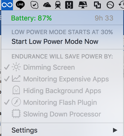 Cara Mengaktifkan Low Power Mode Mac OS X macOS di MacBook