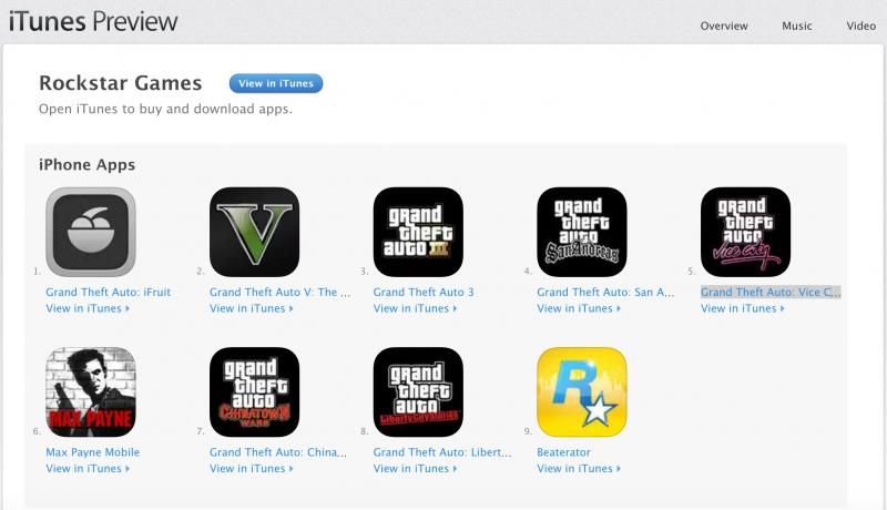 Download Gratis Grand Theft Auto GTA iPhone dan iPad