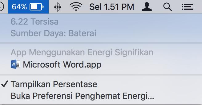 Cara Hemat Baterai Boros MacBook macOS Sierra