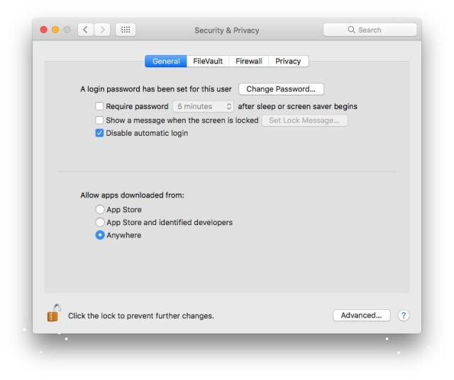 Cara Install Semua Aplikasi Anywhere Mac dan MacBook di macOS Sierra
