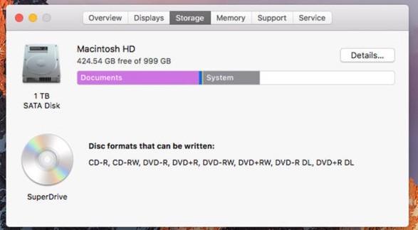 Cara Menambah Kapasitas Memori SSD di MacBook 128 GB