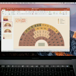 Touch Bar pada Microsoft Office