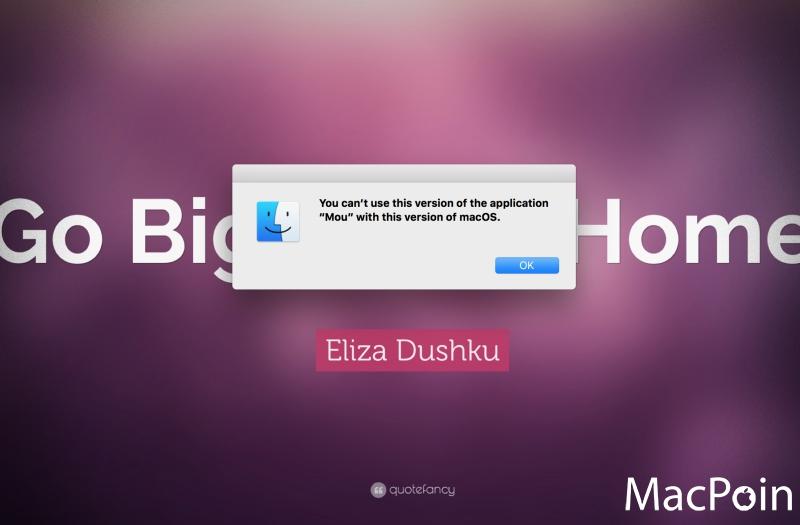 Memperbaiki Aplikasi Mac Error Setelah Update macOS Sierra