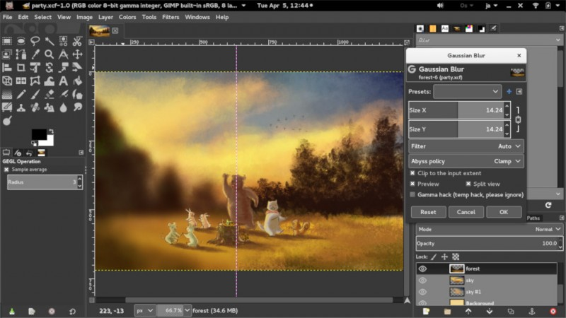 Alternatif Photoshop Gratis di Linux, Windows, Mac OS X macOS Sierra