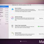 Tips Cara Menambah Memori Storage MacBook 128 GB dengan macOS Sierra