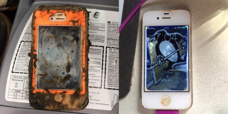 iPhone 4 Tidak Rusak Setelah Tenggelam Satu Tahun